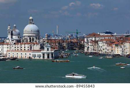 Venice cityscape, Italy