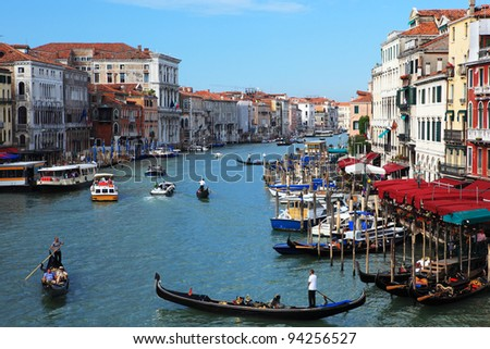 Venice cityscape. Italy - stock photo