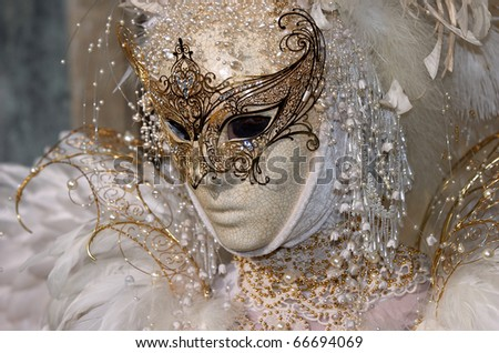 VENICE - FEBRUARY 17: The Carnival of Venice is an annual festival starting around two weeks before Ash Wednesday and ends on Shrove Tuesday or Mardi Gras in February 17, 2007 in Venice, Italy.