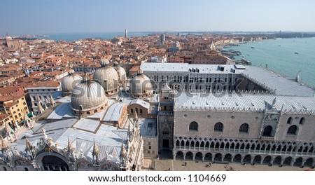 Venice from Campanile