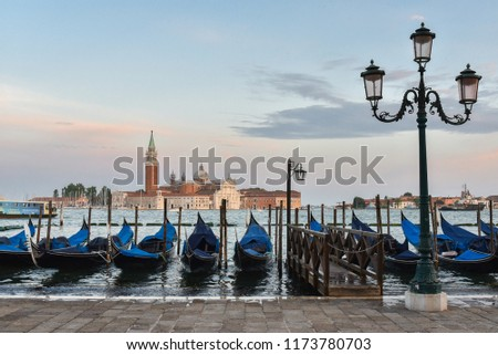 Venice Italy beautiful town (public place) #1173780703