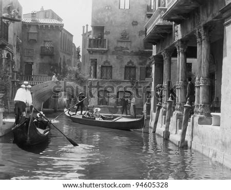 venice  italy  circa 1920s