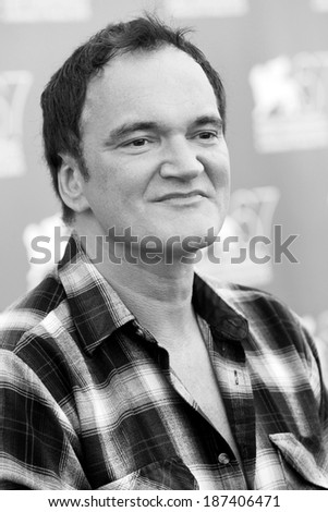 VENICE, ITALY - SEPTEMBER 01: Director Quentin Tarantino attends the Jury photo-call during the 67th Venice Film Festival on September 1, 2010 in Venice, Italy.