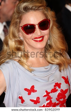 VENICE, ITALY - SEPTEMBER 1:  Madonna attends the 'W.E.' premiere at the Palazzo Del Cinema during the 68th Venice Film Festival on September 1, 2011 in Venice, Italy.