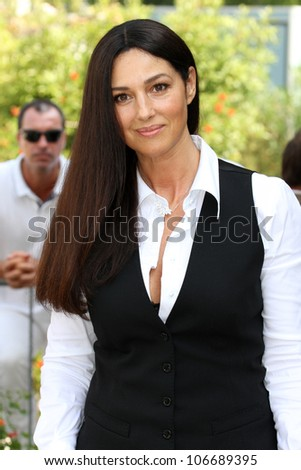 VENICE, ITALY - SEPTEMBER 03: Monica Bellucci during the 68th Venice Film Festival on September 03, 2011 in Venice, Italy.