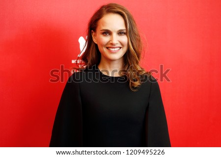 VENICE, ITALY - SEPTEMBER 04:  Natalie Portman attends the photo-call of the movie 'Vox Lux' during the 75th Venice Film Festival on September 4, 2018 in Venice, Italy.