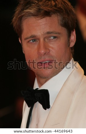 VENICE - SEPT 2:Brad Pitt attends the premiere of 'The Assassination of Jesse James by the coward Robert Ford' at the 64th Venice Film Festival on September 2, 2007 in Venice.