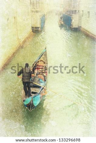 Venice vintage photo