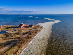 Vente Cape (Horn or Peninsula) is a headland in Lithuania. It's known as a rest place for many birds during their migrations. Ornithological Station - one of the first bird ringing stations in Europe.