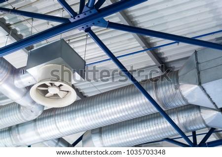 Ventilation shafts of industrial level