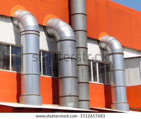 Ventilation system of the store. Ventilation system.                   #1512657683