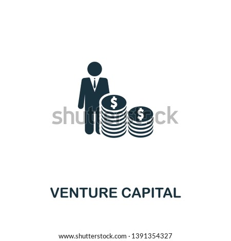 Venture Capital icon. Premium style design from startup collection. UX and UI. Pixel perfect venture capital icon for web design, apps, software, printing usage.