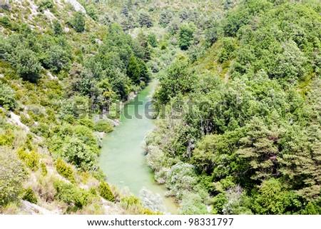 Verdon Gorge, Provence, France - stock photo