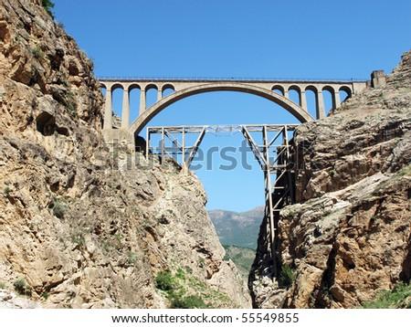 Veresk bridge  (strategic famous railway bridge in Iran that during World War II  called the bridge of victory).