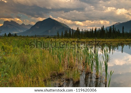 Vermillion Lake, Banff National Park Alberta, Canada