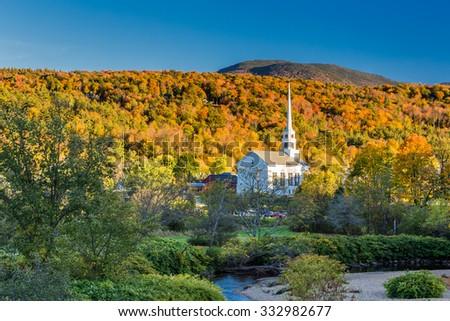 Vermont Fall Foliage. #332982677