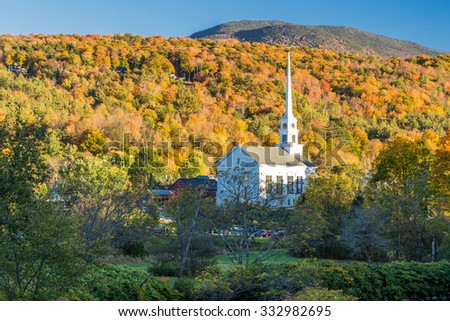 Vermont Fall Foliage. #332982695