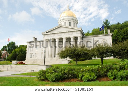 Vermont State Capital Building in Montpelier