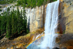 Vernal Falls, Yosemite National Park, California USA