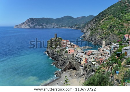Vernazza village, 5 terre