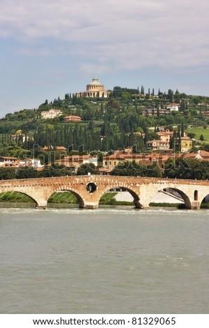 Verona Italy city view
