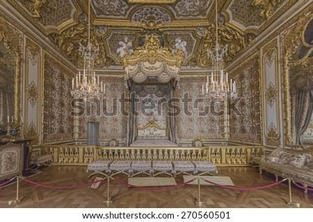 Versailles france april 18 2015 the queen 39 s - Chambre de la reine versailles ...