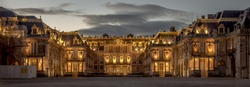 Versailles Royal Palace Castle of Versailles one of the most famous and luxury castle in the word.