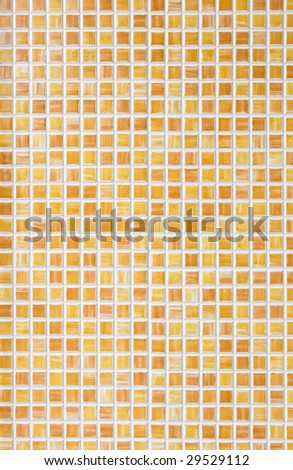 Vertical back ground of small orange tiles