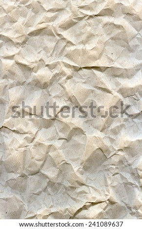 vertical background texture of crumpled paper