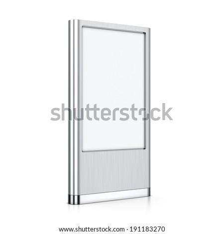 Vertical blank billboard #191183270