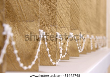 vertical blinds as a background