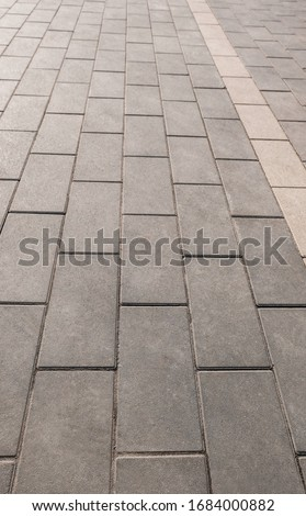 Vertical gray background from brick stone . Foto stock ©