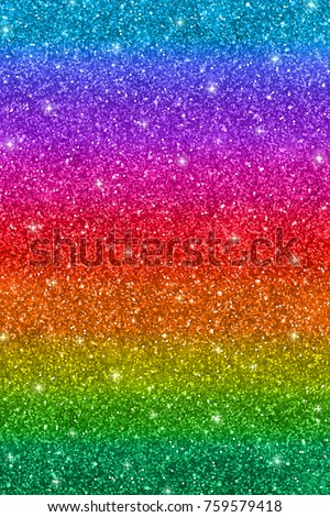 Vertical multicolored glitter background