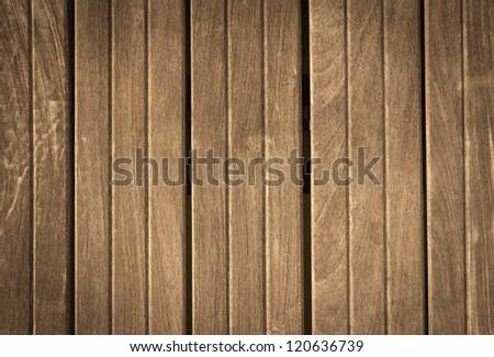Vertical plank wooden pattern