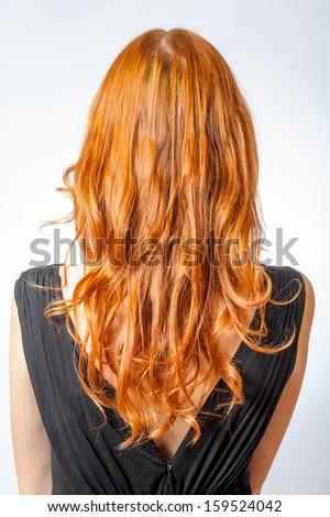 Free Photos Long Brown Curly Hair Back View Avopix Com