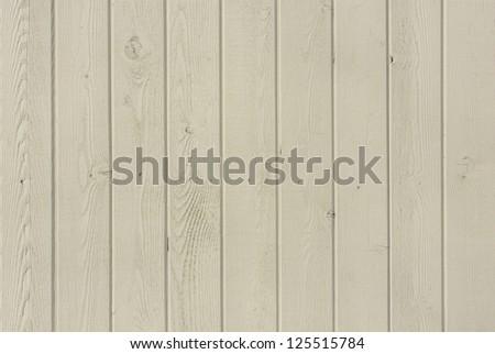 Vertical wooden fence close up