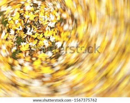 Vertigo, Dizzy, Tree impression, Illness, Swirl/Autumn Swirling Trees #1567375762