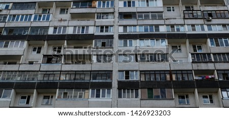 very big panoram of apartements