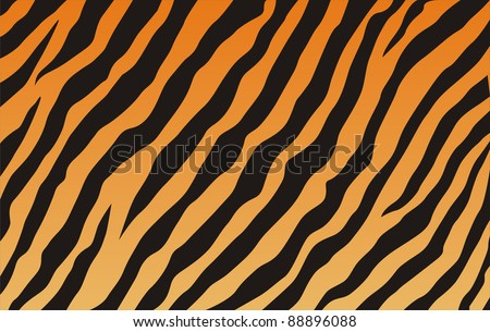 very big size computer generated tiger texture