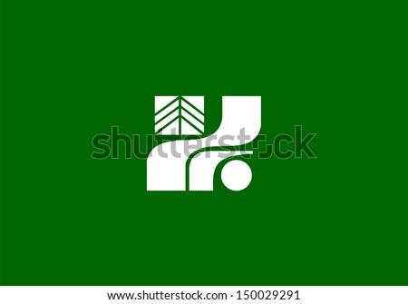 very big size flag of japan region tochigi