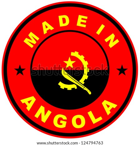very big size made in angola country label