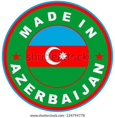 very big size made in azerbaijan country label