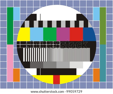 very big size television technical review background