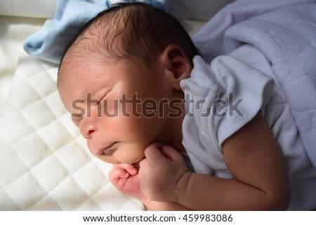 Very Cute 1 Week Old Baby Taking a Sunbath  Johnny Zac Preston Bacx , Hertfordshire ,England United Kingdom