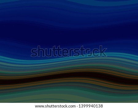 very dark blue, midnight blue and dark slate gray colored abstract waves background can be used for graphic illustration, wallpaper, presentation or texture.