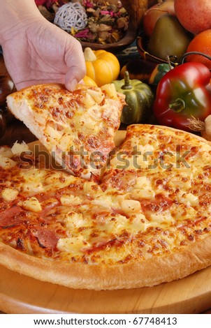 Very delicious pizza redy to eat