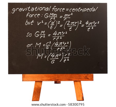 Rocket Science Formula Rocket Science Equation on