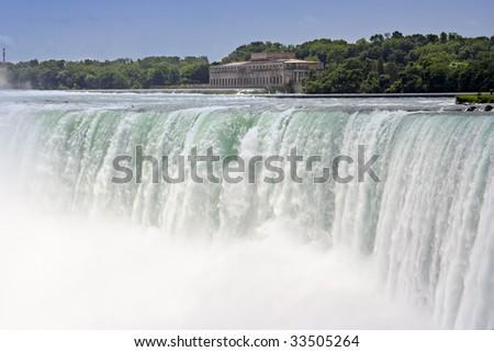 Very famous waterfall in Niagara Canada.
