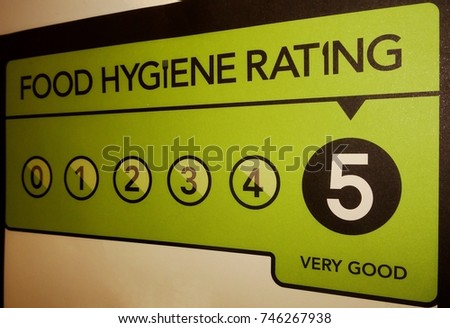 Very good food hygiene rating from the United Kingdom Food Standards Agency