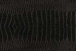 Very luxurious crocodile imitation leather texture used in textile industry, original skin